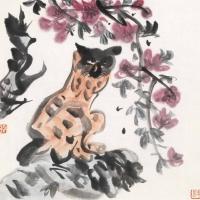 王易 猫石图