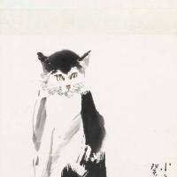 李道熙 猫石图