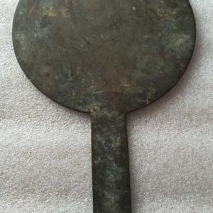 清代带柄铜镜交易价格