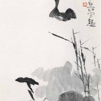陈寿岳 荷花鸭子