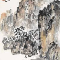 陈寿岳 山水画