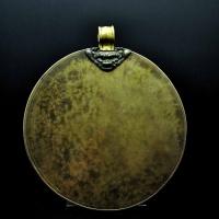 16世纪 铜护心镜