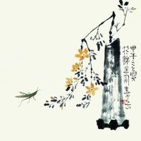 陈寿岳 瓶花