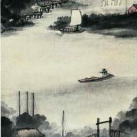 吴石仙 山水画
