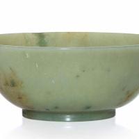 清中期 青白玉碗