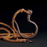 17世纪 铁翦金、翦银金刚钩
