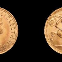 1968年英国金币一枚