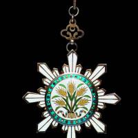 民国时期北洋政府三等嘉禾勋章一枚