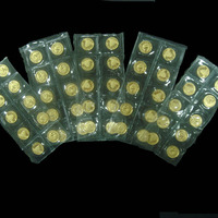 1988年熊猫1/20盎司金币五十枚