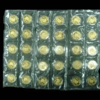 1993年孔雀开屏1/4盎司纪念金币三十枚