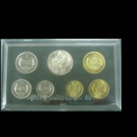1981年中国人民银行试铸1角、2角、5角铜币镍质样币各一枚,附铜币一套三枚,长城流域纪念币一枚