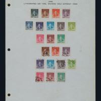 ★○民国时期邮票贴片一组一百三十五页
