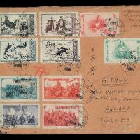 1951-1955年实寄封一组七件
