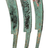 战国时期燕国初铸大型尖首刀三枚