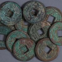 南宋折二纪年钱一组八十七枚