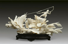 象牙雕刻工艺品价格