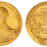 大英帝国英王乔治五世像金质海事训练奖章
