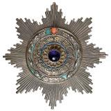 大清国第三等三级御赐双龙宝星勋章一枚