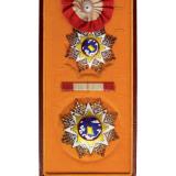 民国时期国民政府二等云麾大绶勋章正章、副章各一枚
