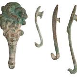 汉代青铜带钩一组十枚