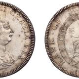 1804年英格兰银行乔治三世五先令银币一枚