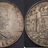 1815年西班牙双柱银币一枚