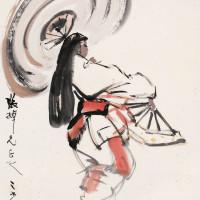 杨之光 日本舞女
