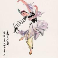 杨之光 庆丰收舞
