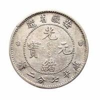 1899年安徽省造光绪元宝无纪年库平七分二釐银币一枚