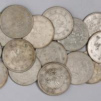 1907-1909年云南省造光绪元宝 宣统元宝库平三钱六分银币一组二十三枚(无图)