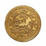 """民国八年西藏""""色章果木""""金币一枚"""