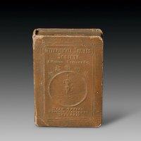 民国时期上海万国储蓄会储蓄盒一个