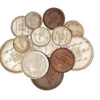 1922年蒙古银币1唐吉、50蒙哥、20蒙哥、15蒙哥、10蒙哥全套五枚;另蒙古不同面值银币二枚、铜币三枚、镍币三枚