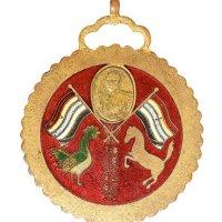 民国五年六月云南都督府制唐继尧像拥护共和纪念章一枚