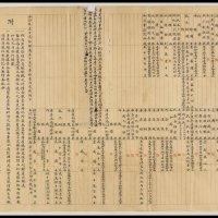 宣统元年度支部贵州官钱总局账目出入对照表一张