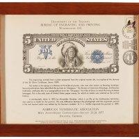 1977年美国钱币学会年会参与纪念钞一枚