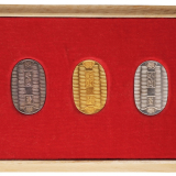 1970年日本大阪世界博览会纪念章一套三枚