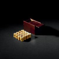 清中期 象牙制小象棋一套
