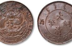 大清铜币二十文值多少钱分析