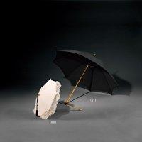 十九世纪 犀角雕玫瑰枝柄绅士伞