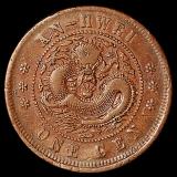 清代安徽省造光绪元宝十文铜币一枚