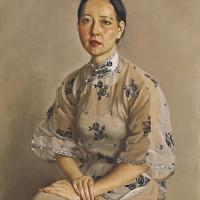 陈丹青 女画家肖像