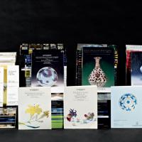 苏富比拍卖图录96册、香港苏富比二十周年纪念专刊1册、佳士得拍卖图录93册 共190册