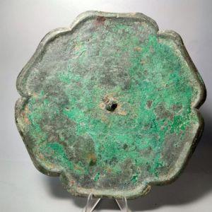宋代厚重大型葵花铜镜交易价格