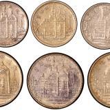 黄花冈纪念银币六枚