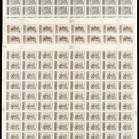 特16东汉画像砖四枚全96枚全张