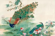 经典花鸟画就在潘天寿笔下