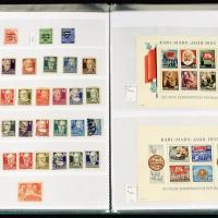 德意志民主德国邮票1100余枚