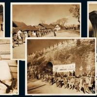 抗战时期陆良集结参战新闻照5张