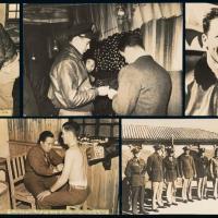 抗战时期美国飞虎队新闻照8张